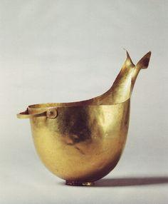 // Gold Cup, Greek, Early Hellanic II, c. 2700 to 2500 B.C.