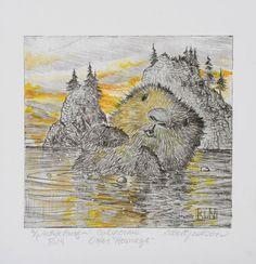 Robert Lyn Nelson - California Otter Homage