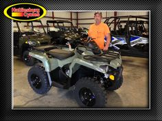 Thank you Stephen Codington from Poplarville MS for getting a 2017 Can-Am Outlander 450 #canam