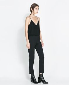 Image 1 of TECHNICAL TROUSERS from Zara