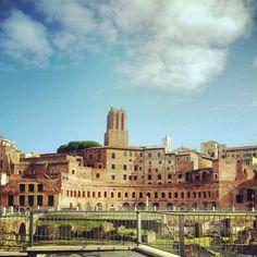Mercati di Traiano / Trajan's market, Rome 110-112 AD designed by Greek architect Apollodorus of Damascus.