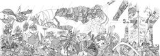 Black And White Drawing, My Black, Four Seasons, Moose Art, Drawings, Animals, Animales, Animaux, Seasons Of The Year