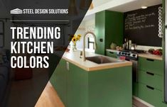 We know how overwhelming choosing new kitchen colors can be! Take a look at these kitchen colors that are sure to make it big in 2018! Find a shade (or two!) that make you feel inspired and at home, and don't be afraid to branch out!