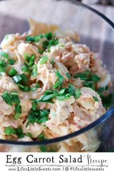 Egg Carrot Salad has crunchy shredded carrots 12 hard-boiled eggs smoked paprika cumin onion mayonnaise vinegar pickle relish fresh chopped chives. This egg salad recipe is a great way to use up extra eggs and makes a delicious appetizer or side dish! Food Processor Pizza Dough, Food Processor Recipes, Carrot Salad Recipes, Egg Recipes, Hard Boiled, Boiled Eggs, Making Kale Chips, Potato Salad Dill, Creamy Mashed Potatoes