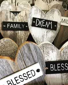 Rustic wood heart Barnwood heart vintage wall decor