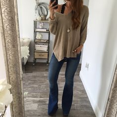 The Eden Knit Sweater - Taupe
