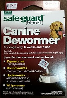 Wormers Dewormer 8in1 Safe Guard 4 Canine Anti Parasite Large Dog Puppies 3day ** You can get additional details at the image link.-It is an affiliate link to Amazon.