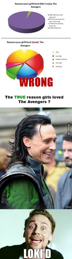 JUST YES. And Iron man..<> BE MY FRIEND YES LOKI AND IRON MAN JUST YES. I mean it was a good movie and all.. BUT LOOK AT HIS EYES ♥< LET ME JOIN THE FRIENDSHIP CIRCLE FOR LOVING LOKI and IRON MAN!