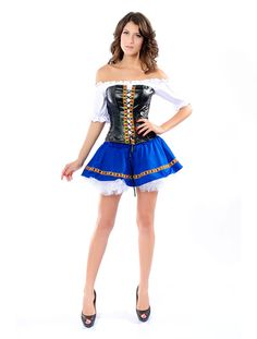 French adult maid costume