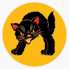 Cat Stickers, Bumper Stickers, Car Magnets, Retro Vintage, Decals, Crafts, Outdoor, Design, Bumper Stickers For Cars