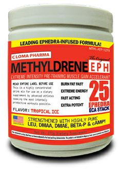 Methyldrene EPH is an exclusive ephedra-infused pre-trainer. This pre-workout will give you intense amounts of energy you have never felt before. Fat Burner Supplements, Gain Muscle, Train Hard, Fat Fast, Felt, Pure Products, Workout, Gaining Muscle, Muscle Up