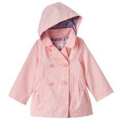 Carter's Print Hooded Jacket - Toddler Girl | Girl's Outerwear ...
