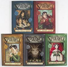 The Spiderwick Chronicles is a series of children's books by Tony DiTerlizzi and Holly Black. They chronicle the adventures of the Grace children, twins Simon and Jared and their older sister Mallory, after they move into Spiderwick Estate and discover a world of faeries that they never knew existed.