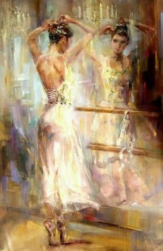 """Soul Reflection II"" Artist: Anna Razumovskaya, Russian"