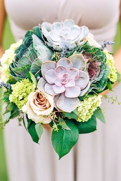 24 Wedding Bouquets That Are Beautiful & Unique ❤ See more: http://www.weddingforward.com/beautiful-wedding-bouquets/ #weddings #bouquets