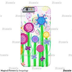Magical Flowers Barely There iPhone 6 Case
