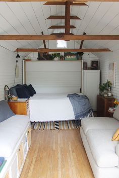 Converting A Garage Into A Bedroom Pictures. Converting A Garage Into A Bedroom Pictures. Converting A Garage Into A Bedroom In 2019 Garage To Living Space, Garage Guest House, Living Spaces, Dream Garage, Garage Turned Into Living Space, Tiny Living, Convert Garage To Bedroom, Garage Bedroom, Garage Attic