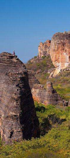 Seven Cities National Park - Piaui - Brazil