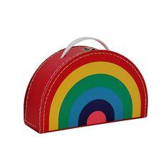 Dětský kufřík 28cm duha barevná | Kazeto.cz Kids Room, Children, Bags, Young Children, Handbags, Boys, Kidsroom, Taschen, Kid Rooms