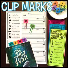 Annotating the text is an effective and meaningful skill that engages students in close reading activities. Unfortunately, it's also a hard skill to teach! Over-analyzing the text can take the joy out of reading. That's why I created Clip Marks! Students love using these ready-made close reading clips to quickly tag pages and annotate text as they are reading.