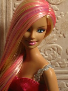 "Barbie's actual dimensions: 5'9"" tall,39"" bust,18"" waist, 33"" hips and a size 3 shoe. Barbie likes her weight at 110 lbs. At 5'9"", weighing 110 lbs, Barbie would have a BMI of 16.24 and fit the weight criteria for anorexia. If Barbie were real, she'd have to walk on all fours due to her proportions. See, you don't want to be like Barbie."