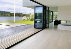 Private Residence Oslo with Hakwood Unfinished flooring : Private Residence Diy Mask, Diy Face Mask, Face Masks, Most Beautiful Images, Beautiful Homes, Exterior Design, Interior And Exterior, Future House, My House
