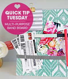 IHeart Organizing: Quick Tip Tuesday: Multi-Purpose Band Board