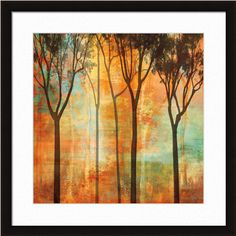 Magical Forest II by Chris Donovan    http://www.artsperfect.com/products/art01394/Magical-Forest-II  Framed and Matted Art  $143.65