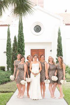 Photography: Amalie Orrange Photography - amalieorrangephotography.com Read More: http://www.stylemepretty.com/2014/07/14/glitter-wedding-at-the-citrus-club/
