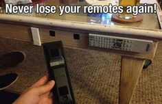 Add Velcro to Your Remotes | 32 Bachelor Hacks That Will Improve Everyone's Lives