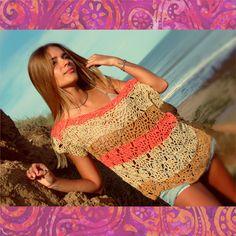 #mariadelapaz #tejidos #crochet #kimonos Bohemian style . Boho chic . lovely . freespirit . #bikinicrochet