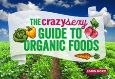 crazy sexy guide to organic foods
