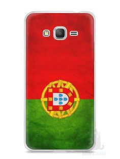 Capa Samsung Gran Prime Bandeira de Portugal - SmartCases - Acessórios para celulares e tablets :)