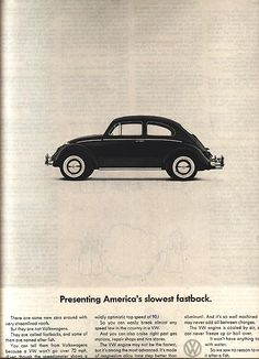VW Ad side View