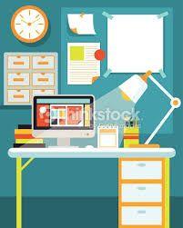 Image result for illustration desk Office Desk, Sofas, Illustrator, Graphic Design, Image, Furniture, Home Decor, Couches, Desk Office