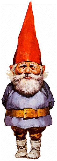 I've always loved Gnomes. I have a book that my Grandma bought me when I was little because I KNOW they are real. :)
