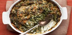 Get Spinach Gratin Recipe from Food Network Thanksgiving Sides, Thanksgiving Recipes, Christmas Recipes, Holiday Recipes, Spinach Gratin, Vegetarian Recipes, Cooking Recipes, Food Fantasy, Just Eat It