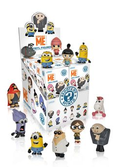 Funko Mystery Minis: Despicable Me Blind Box Figure. One Mystery Mini Blind Box Figure!. Check out the other Despicable Me figures from Funko!. Collect them all!.