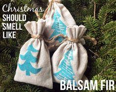Because #Christmas should smell like Balsam fir