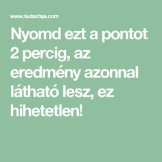 Nyomd ezt a pontot 2 percig, az eredmény azonnal látható lesz, ez hihetetlen! Eft Tapping, Massage, Math Equations, Health, Bridge Pattern, Tips, Salud, Health Care, Massage Therapy