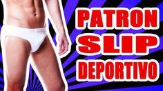 Patrón de costura para confeccionar un slip deportivo para hombre tallas s-m-l-xl. Incluye video tutorial para el armado.