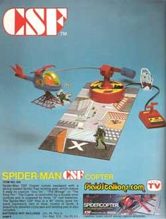 1978 REMCO Toy Catalog I Spider-Man I Batman I Spider-man I Plaidstallions.com Spiderman, Batman, Toy Catalogs, Action Figures, Toys, Space, Spider Man, Activity Toys, Floor Space