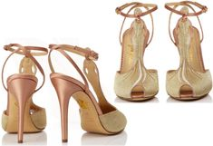 Head over Heels for Luxury ShoesCharlotte Olympia Mae West Ankle Sandal
