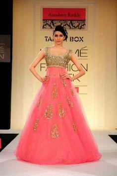 my future wedding reception outfit...Anushree Reddy