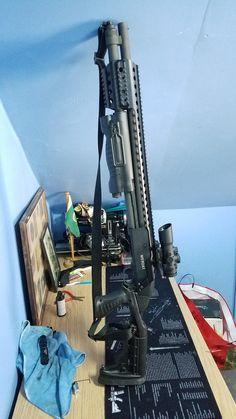 Mossberg 500, Gun Vault, Custom Guns, Weapons Guns, Tactical Gear, Shotgun, Archery, Cutlery, Firearms