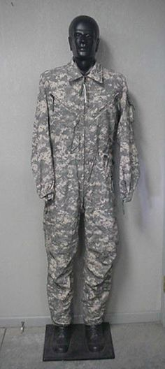 US MILITARY IMPROVED OVERALLS, COMBAT VEHICLE CREWMAN'S, ACU, NEW WITH TAGS, ML
