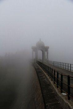 Fog Covered Bridge