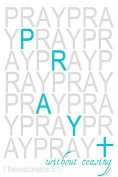 pray art bible scripture