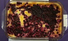 Huckleberry Dessert
