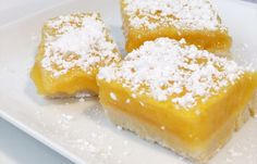 2 Ingredient Lemon Bars Recipe: Lemon Bars aren't just for lemon lovers! Give this recipe a try, and tell us what you think about these Lemon Bars.